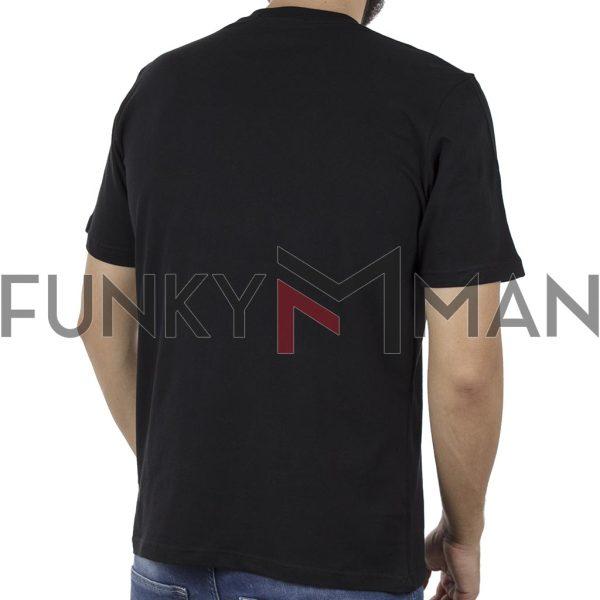 Κοντομάνικη Μπλούζα Pennie T-Shirt CARAG 22-200-19N Μαύρο