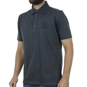 Κοντομάνικη Μπλούζα Polo Pique 130gr CARAG 22-577-19N σκούρο Πράσινο