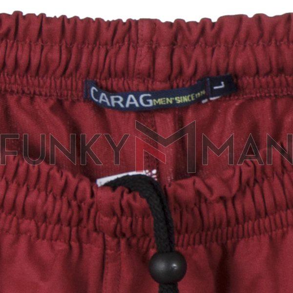 Μακό Βερμούδα Cotton Pennie CARAG 81-500-19N Κόκκινο