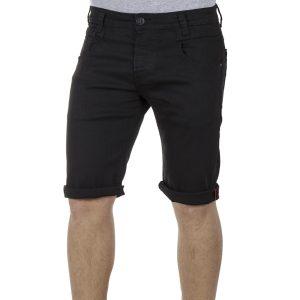 Τζιν Βερμούδα DAMAGED Jeans DB10 SS19 Μαύρο