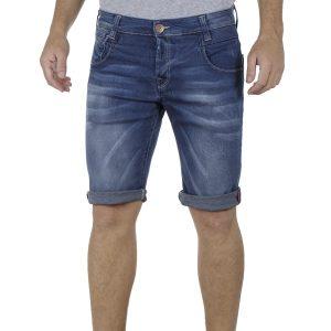 Τζιν Βερμούδα DAMAGED Jeans DB10 SS19 Μπλε