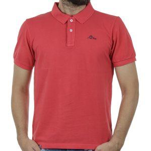 Κοντομάνικη Μπλούζα Polo ICE TECH AIR σκούρο Ροζ