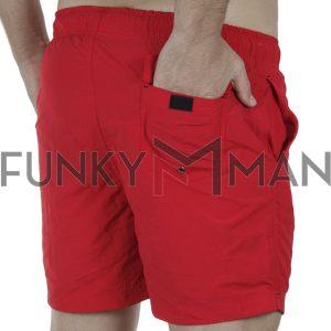 Μαγιό Βερμούδα ICE TECH SOLID Swimming Shorts Κόκκινο