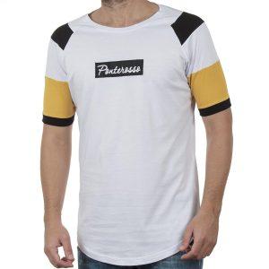 Κοντομάνικη Μπλούζα Ranglan T-Shirt PONTEROSSO 19-1039 COLOUR Λευκό