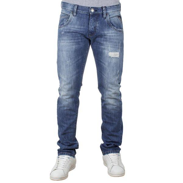 Τζιν Παντελόνι Regular Fit SHAFT Jeans 5701 Μπλε