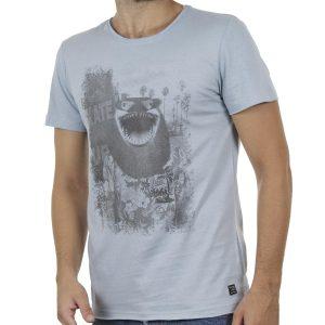 Κοντομάνικη Μπλούζα T-Shirt BLEND 20705334 Σιέλ