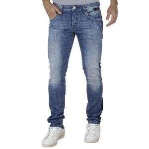 Τζιν Παντελόνι με Ρίγα κατά μήκος του ποδιού SHAFT Jeans 5695 Μπλε