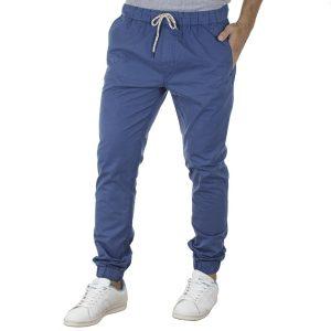 Παντελόνι με Λάστιχα στη Μέση & Πόδια VICTORY DEGAS ανοιχτό Μπλε