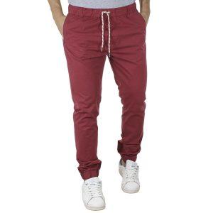 Παντελόνι με Λάστιχα στη Μέση & Πόδια VICTORY DEGAS Κόκκινο