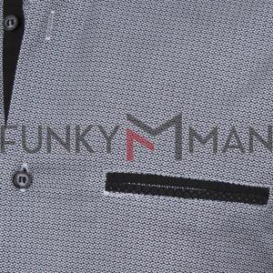 Μακρυμάνικο Πουκάμισο Slim Fit ENDESON FASHION 7010 Μαύρο