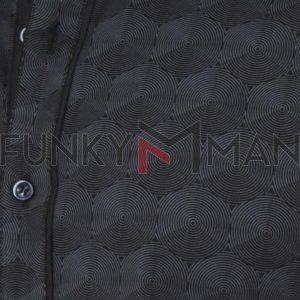 Μακρυμάνικο Πουκάμισο Slim Fit ENDESON FASHION 7065 Μαύρο