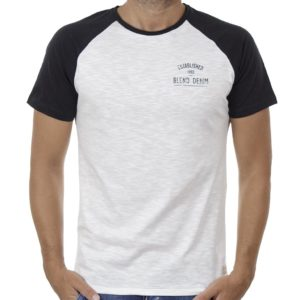 Κοντομάνικη Μπλούζα T-Shirt BLEND 20707852 Λευκό