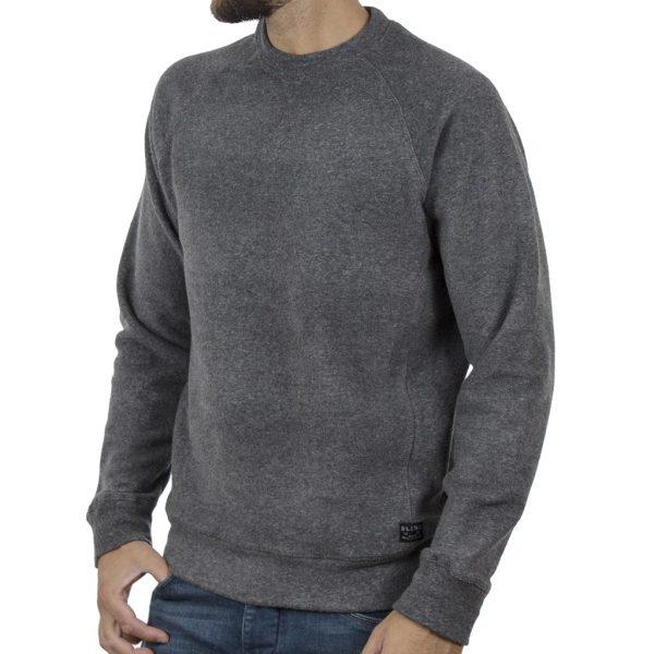 Φούτερ Sweatshirt BLEND 20709260 σκούρο Γκρι