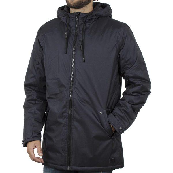 Μακρύ Μπουφάν Parka Jacket με Κουκούλα BLEND 20709594 Blueblack