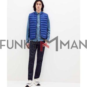 Αμάνικο Μπουφάν-Γιλέκο Vest Jacket CELIO Μπλε