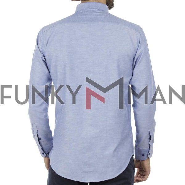 Μακρυμάνικο Πουκάμισο Slim Fit ENDESON 135-100 ανοιχτό Μπλε