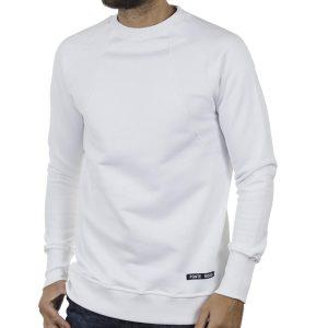 Fashion Φούτερ PONTEROSSO 19-2039 RIB Λευκό