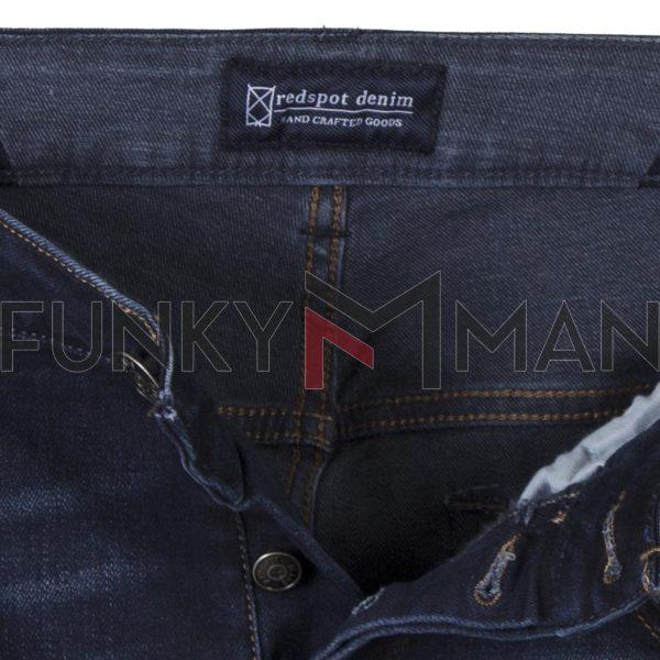 Τζιν Παντελόνι Slim Fit REDSPOT BONO S SS20 Μπλε