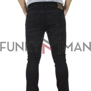 Τζιν Παντελόνι Slim Fit REDSPOT MARTINE BS SS20 Μαύρο