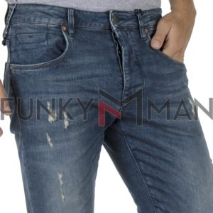 Τζιν Παντελόνι Slim Fit REDSPOT MARTINE F SS20 ανοιχτό Μπλε