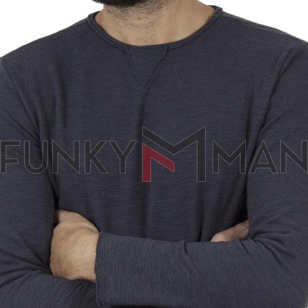 Μακό Μακρυμάνικη Μπλούζα SCINN ST084