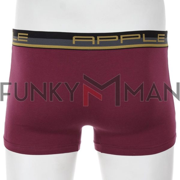 Εσώρουχο Boxer Apple 0110951 Μπορντό