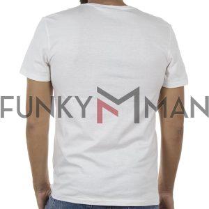 Κοντομάνικη Μπλούζα T-Shirt BLEND 20705333 Λευκό