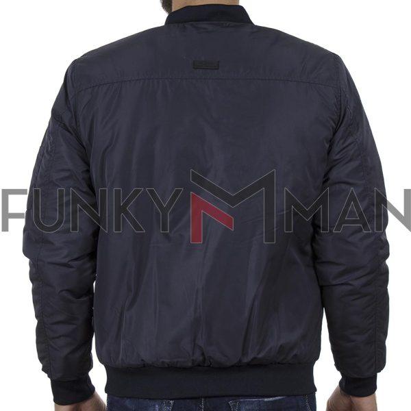 Φλάι Μπουφάν Flight Bomber Jacket BLEND 20708642 Navy