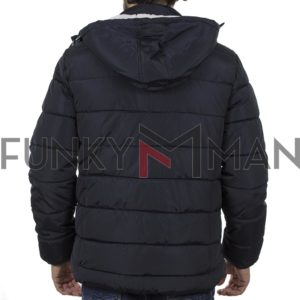 Φουσκωτό Μπουφάν Puffer Jacket BLEND 20708652 Navy