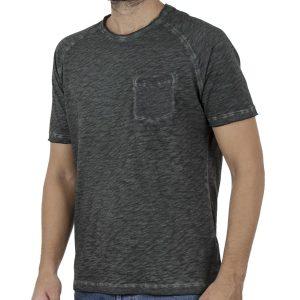 Κοντομάνικη Μπλούζα T-Shirt Back2jeans B9 Πράσινο