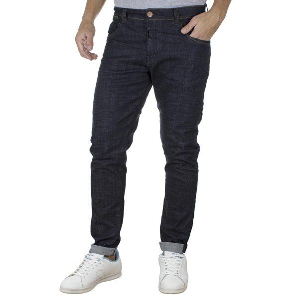 Τζιν Παντελόνι Slim DAMAGED R5 σκούρο Μπλε