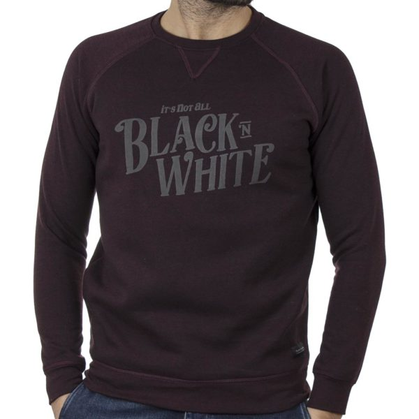 Φούτερ Μπλούζα Sweatshirt DOUBLE MTOP-50 Wine