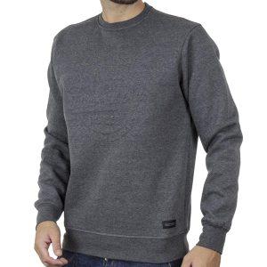 Φούτερ Μπλούζα Sweatshirt DOUBLE MTOP-53 Γκρι
