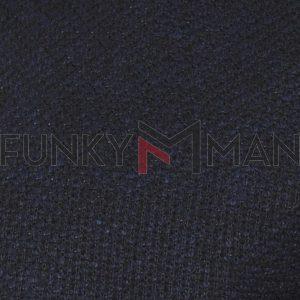 Φούτερ-Fleece Ζακέτα DUKE 800549 BRAXTON 1 Navy