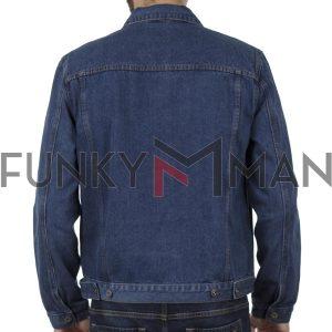 Τζιν Μπουφάν DUKE KS13110 TRUCKER Μπλε