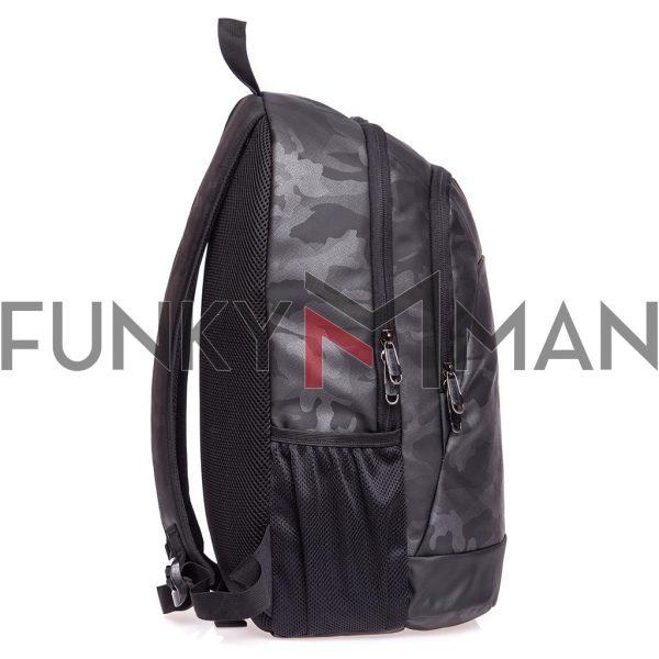 Σακίδιο Πλάτης All Over Print Backpack HEAVY TOOLS ELUSA παραλλαγή Ανθρακί