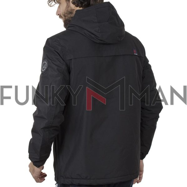 Cagoule Jacket με Κουκούλα ICE TECH G715 Μαύρο
