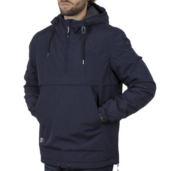 Cagoule Jacket με Κουκούλα ICE TECH G715 Navy