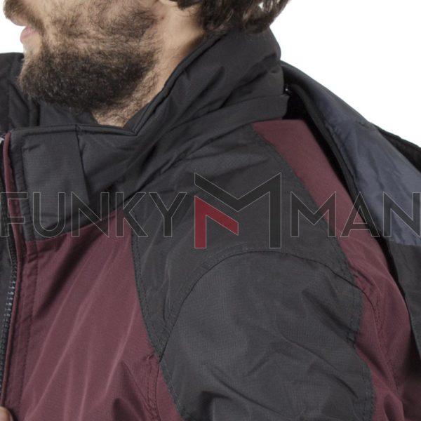 Flight Bomber Jacket με Κουκούλα ICE TECH G721 Cherry