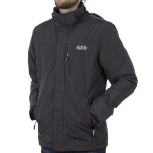 Jacket με Κουκούλα ICE TECH G727 σκούρο Γκρι