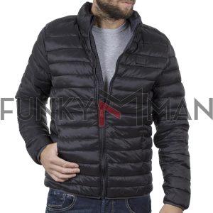 Φουσκωτό Μπουφάν Puffer Jacket BLEND 20708632 Μαύρο
