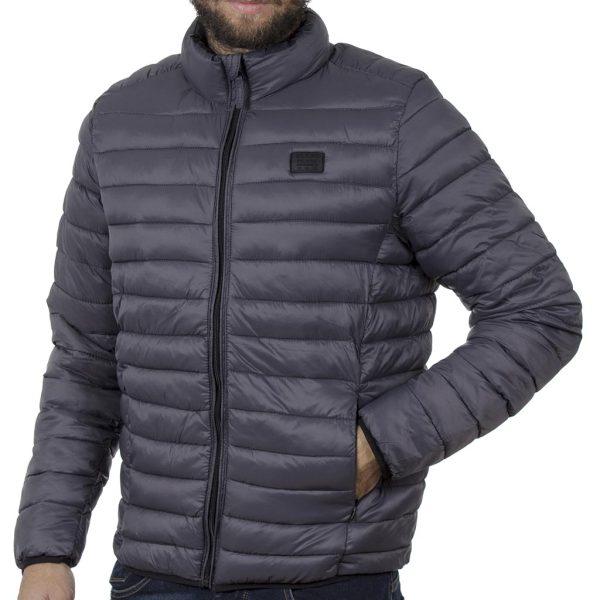 Φουσκωτό Μπουφάν Puffer Jacket BLEND 20708632 Γκρι