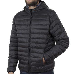 Puffer Jacket με Κουκούλα BLEND 20708633 Μαύρο