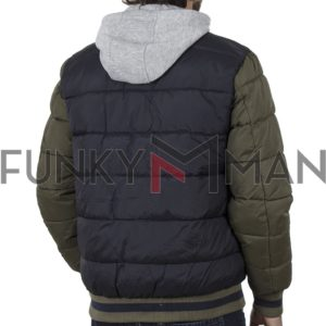 Hooded Puffer Jacket BLEND 20708650 Μπλε
