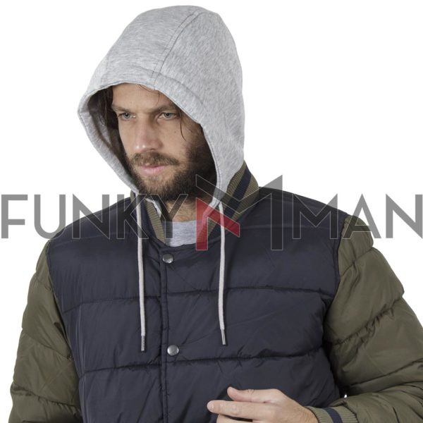 Hooded Puffer Jacket BLEND 20708650 Μπλε
