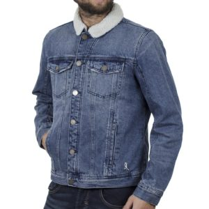 Winter Jean Jacket BLEND 20708668 Μπλε