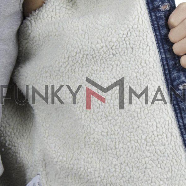 Winter Jean Jacket BLEND 20708668 Μπλε
