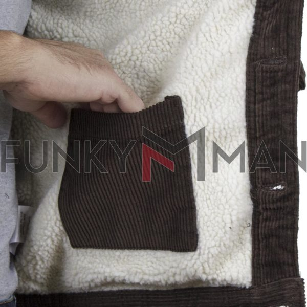 Κοτλέ Winter Jacket BLEND 20708910 Καφέ