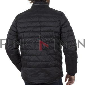 Φουσκωτό Μπουφάν Puffer Jacket BLEND 20709403 Μαύρο
