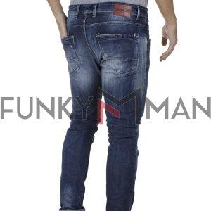 Τζιν Παντελόνι Slim Back2jeans M11 SS20 Μπλε